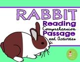 Rabbits Nonfiction Informational Reading Comprehension Passage & Questions