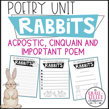 Rabbits Poetry (Print and Go)