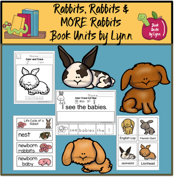 Rabbits, Rabbits and More Rabbits by Gail Gibbons Book Unit