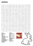 Rabbits Word Search