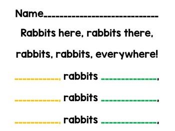 Rabbits, Rabbits and (MORE) Rabbits