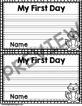 Back to School Craft Activity (First Day of School Kissing Hand Craftivity)