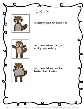 Raccoon Craftivity