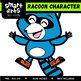 Raccoon Digital Clip Art