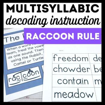 Raccoon Rule Book 7-Advanced Decoding Strategies