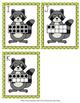 Raccoon Ten Frames Count the Room