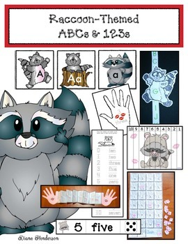 Kissing Hand Inspired: Raccoon-Themed ABCs & 123s