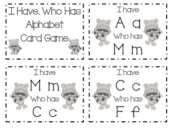Raccoon Themed Math & Literacy Centers for Pre-K or K