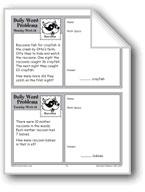 Raccoons (Grade 2 Daily Word Problems-Week 18)