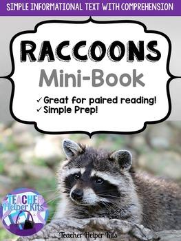 Raccoons Informational Minibook