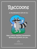 """""""Raccoons"""" Math and Literacy Unit - Aligned with Common Core Standards"""