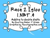 Race 2 Igloo Double Digit addition