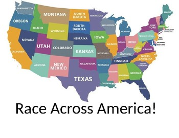 Race Across America 4th Grade Review