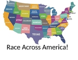 Race Across America 4th Grade Review