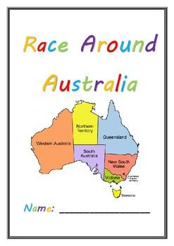 Race Around Australia Reading Challenge