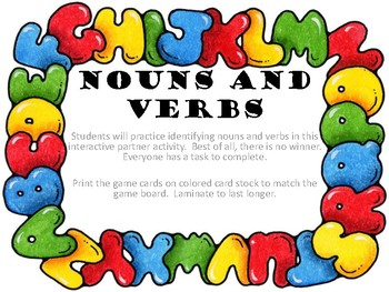 Race Around Nouns and Verbs