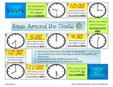 Race Around the Clock- O' Clock and Half Past