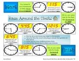 Race Around the Clock- Quarter After and Quarter Till'