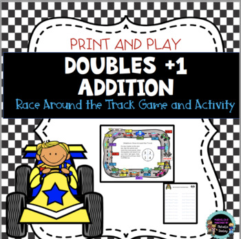 Addition Neighbors Facts (Doubles +1)(Near Doubles) Race Around the Track