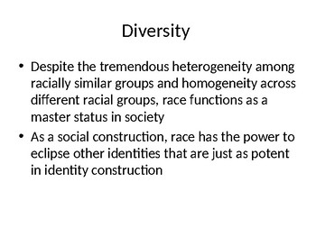Race, Biracial, Multiracial Identities