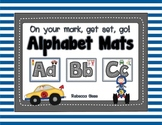 Race Car Alphabet Mats