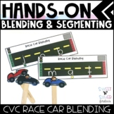 Hands On Blending and Segmenting - CVC Word Families