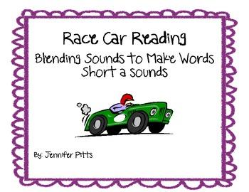 Race Car Blending Words Short a