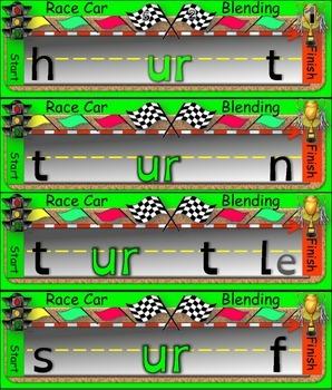 Race Car Blending (er, ir, and ur)