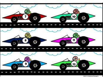 Race Car Border