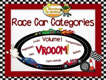 Race Car Categories – Vol. 1