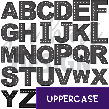 Alphabet Letters Clip Art - Race Car Letters {jen hart Clip Art)