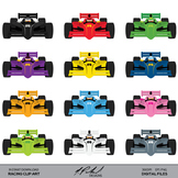 Race Car Clip Art - Racing Clip Art - Car Clip Art - Indy