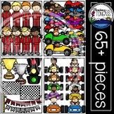 Race Car Clipart MEGA Set (Racing Clipart)