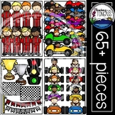 Race Car Clipart MEGA Set (Racing Clipart)