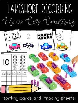 Race Car Counting 1-10