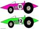 Race Car Cutouts