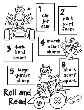 Race Car Dragon Roll and Read - r controlled ar