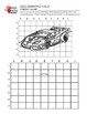 Car II Grid Drawing Worksheet for Middle/High Grades