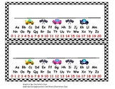 Race Car Name Cards