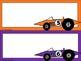 Race Car Name Plates