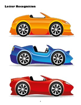 Race Car Preschool Activities NO PREP