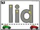 Race Car Reading - Blending Decodable Words