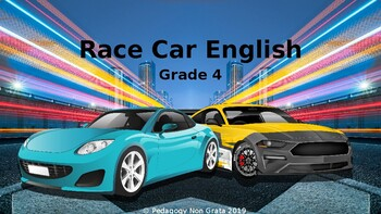 Race Car Reading Smart Board Game: Grade 4: Level 3