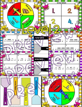 """Music: Math, """"I Can Count,"""" Rhythms, Note Values {Adding & Subtracting}"""