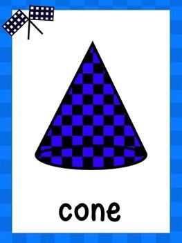 Race Car Shape Posters