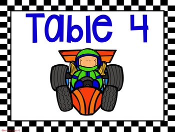 Racing Theme Classroom MEGA Bundle (editable)