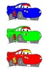 Race Car Theme Desk Name Tags and Locker Tags