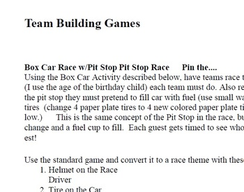 Race Car Theme for Classroom