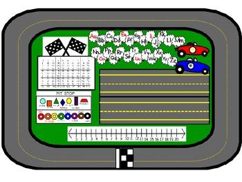 Race Car Theme for the Classroom-Volume 1