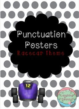 Racecar Themed - Punctuation Posters
